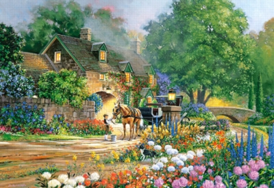 Rose Lane House - 3000pc Jigsaw Puzzle By Castorland