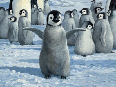 Playful Penguins - 400pc Family Style Jigsaw Puzzle by Cobble Hill