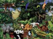 Noah's Gathering - 400pc Family Style Jigsaw Puzzle by Cobble Hill