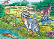 Dinosaurs - 35pc Tray Puzzle by Cobble Hill