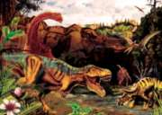 Dino Story - 35pc Tray Puzzle by Cobble Hill