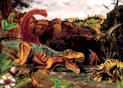 Cobble Hill Children's Puzzles - Dino Story