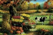Cow Stand - 35pc Tray Puzzle by Cobble Hill