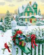 Holiday Mail - 1000pc Jigsaw Puzzle by Springbok
