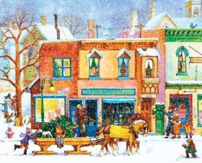 Springbok Jigsaw Puzzles - Old Time Holiday