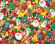Hard Jigsaw Puzzles - Cookie Cutouts