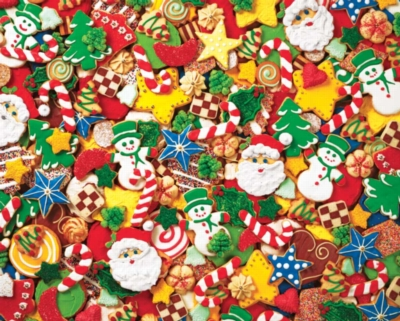 Cookie Cutouts - 2000pc Jigsaw Puzzle by Springbok