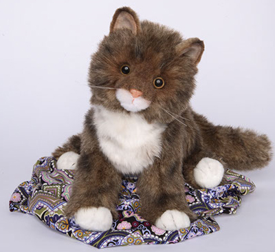 "Davey - 16"" Maine Coon Cat by Douglas Cuddle Toys"
