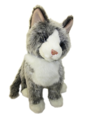 "Cloudy - 16"" Cat by Douglas Cuddle Toys"