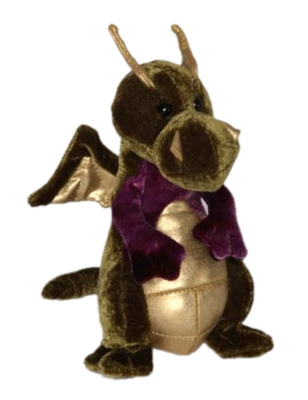 "Homer - 7"" Dragon By Douglas Cuddle Toy"