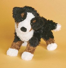 "Miranda Bernese Mountain Dog - 8"" Dog By Douglas Cuddle Toy"