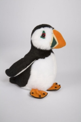 "Obi Puffin - 6"" Bird By Douglas Cuddle Toy"