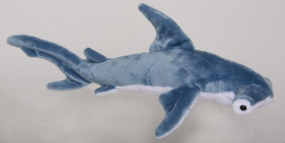 "Nailer Hammerhead Shark - 13"" Shark By Douglas Cuddle Toy"