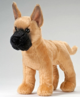 "Sven Great Dane - 8"" Dog By Douglas Cuddle Toy"