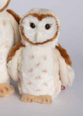 "Rafter Barn Owl - 8"" Owl By Douglas Cuddle Toy"