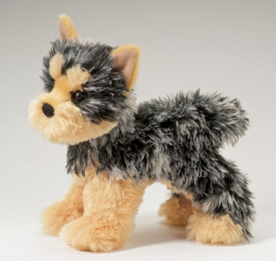 "Yonkers Yorkie - 8"" Dog By Douglas Cuddle Toy"