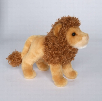 "Lazy - 8"" Lion By Douglas Cuddle Toy"