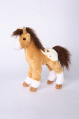 Freckles Golden Appaloosa Foal - 10&quot; Horse By Douglas Cuddle Toy