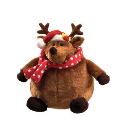 Rolly Polly Reindeer - 9&quot; Christmas By Gund