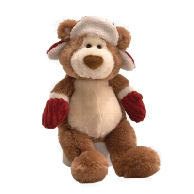 "Holiday Alfie - 9"" Bear By Gund"