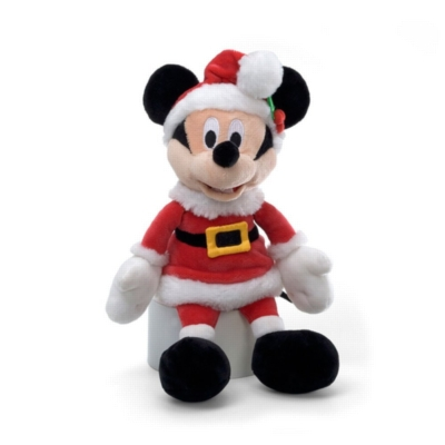 "Holiday Mickey Mouse - 11"" Disney By Gund"