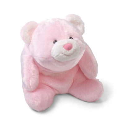 "Lil Snuffles Pink - 7"" Bear By Gund"