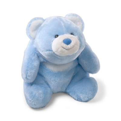"Lil Snuffles Blue - 7"" Bear By Gund"