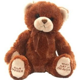 "Lord's Prayer Bear - 9"" Bear by Melissa & Doug"