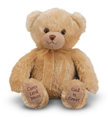 "Mealtime Prayer Bear - 9"" Bear by Melissa & Doug"