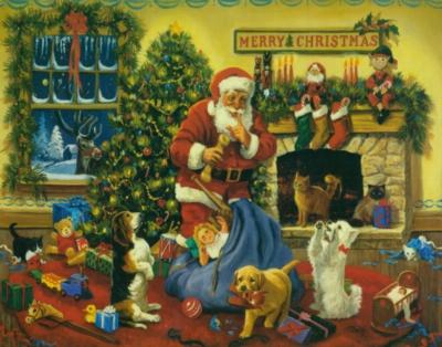Christmas Puzzles - Santa's Beggars