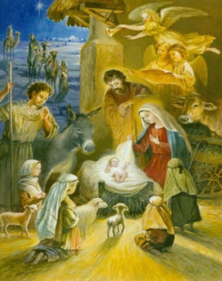 Christmas Puzzles - Holy Infant