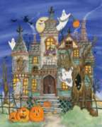 Halloween Puzzles - Haunted House
