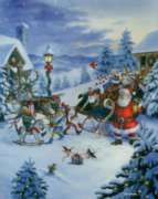 Christmas Puzzles - Christmas Eve