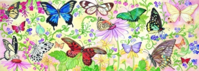 Melissa and Doug Floor Puzzles - Butterfly Bliss
