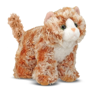 "Trixie Orange Tabby - 8"" Cat by Melissa & Doug"