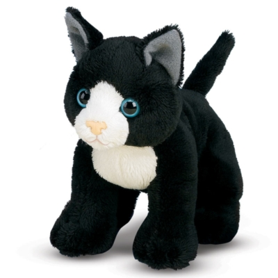 "Lexie Black Cat - 8"" Cat by Melissa & Doug"