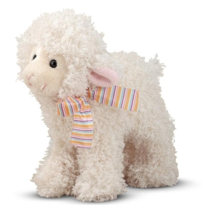 "Fleecie Lamb - 10"" Lamb by Melissa & Doug"
