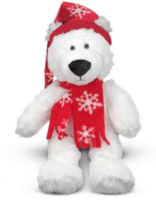 "Chilly Polar Bear - 10"" Bear by Melissa & Doug"