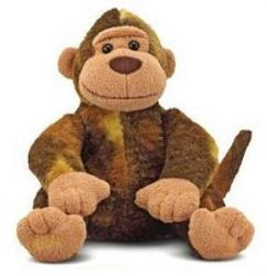 "Mischief Monkey - 11.5"" Monkey by Melissa & Doug"