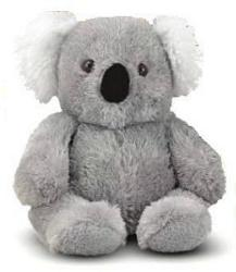 "Sidney Koala - 10"" Bear by Melissa & Doug"