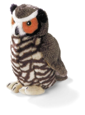 "Audubon Birds: Great Horned Owl - 6"" Bird by Wild Republic"