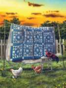 The Hen House - 1000pc Jigsaw Puzzle by Sunsout