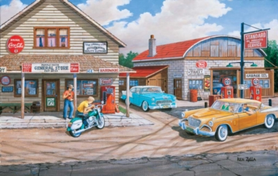 Popple Creek Store - 550pc Jigsaw Puzzle By Sunsout