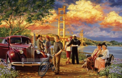Golden Gate Memories - 1000pc Jigsaw Puzzle by Sunsout