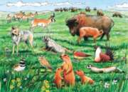 Cobble Hill Children's Puzzles - Life on the Prairie