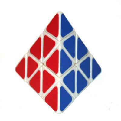 Puzzle Cubes - Pyraminx (White)