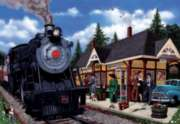 Kirkland Lake Station - 2000pc Jigsaw Puzzle by Cobble Hill