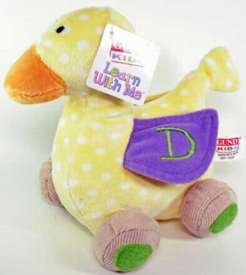 "Learn With Me Duck - 6"" Duck By Gund"