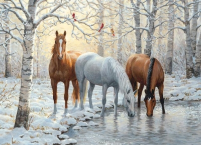 Cobble Hill Jigsaw Puzzles - Winter Trio