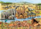 Out of Africa - 35pc Tray Puzzle by Cobble Hill